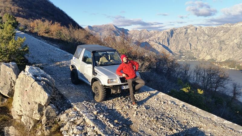 тур на джипе по Черногории