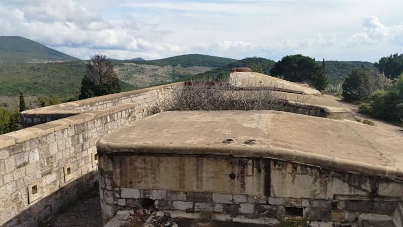 австрийские крепости в Черногории